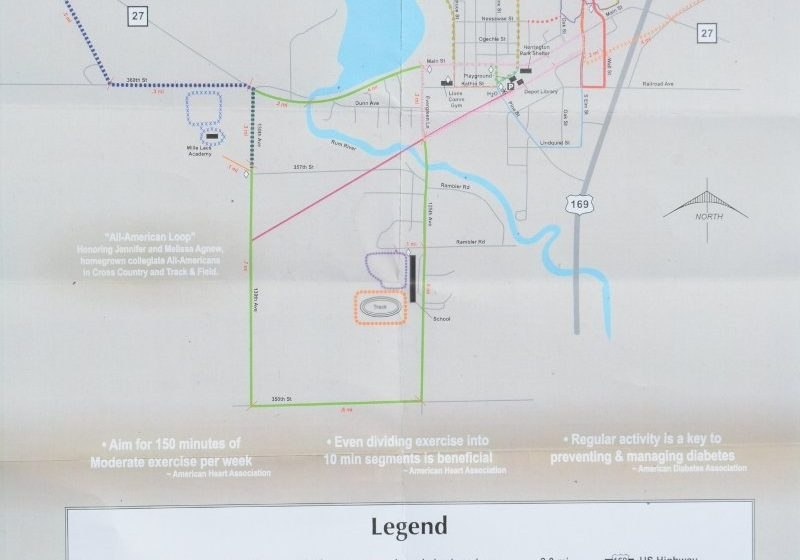 Onamia Trail Map